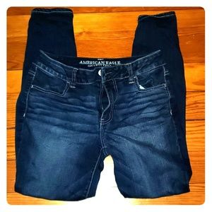 Anerican Eagle size 8 short jeans